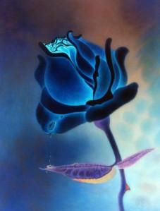 Flor Azul (rosa Azul) 3