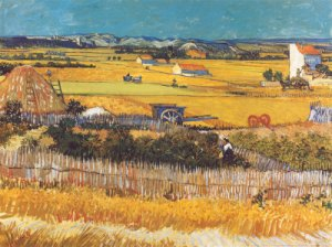 THE HARVEST Vincent Van Gogh